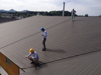 屋根寸法計測