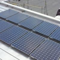 太陽光工事進捗状況その12